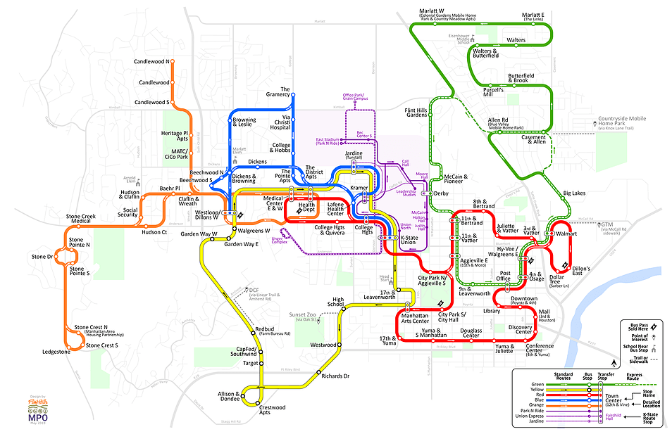 aTa New Route Map August 6